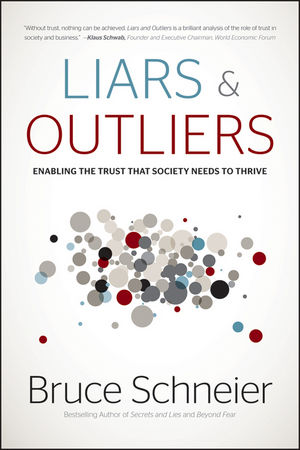 Cover of Liars and Outliers by Bruce Schneier
